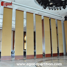 partition wall sliding door for hotel banquet room folding wall partition