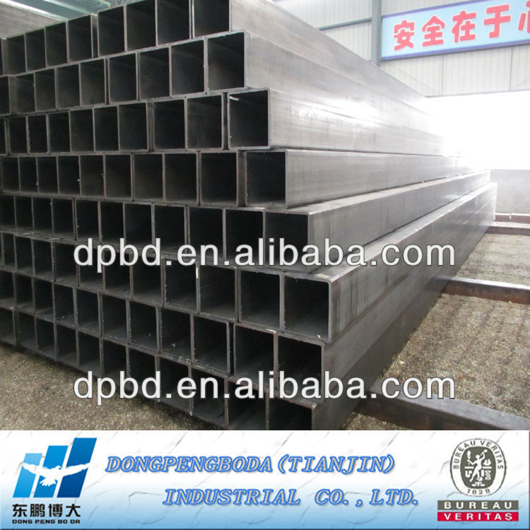 Factory Outlet Tianjin steel pipe the best price weld square pipe