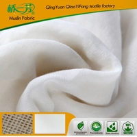 100% cotton plain-dyed fabric /100% cotton white bleached premium quality muslin