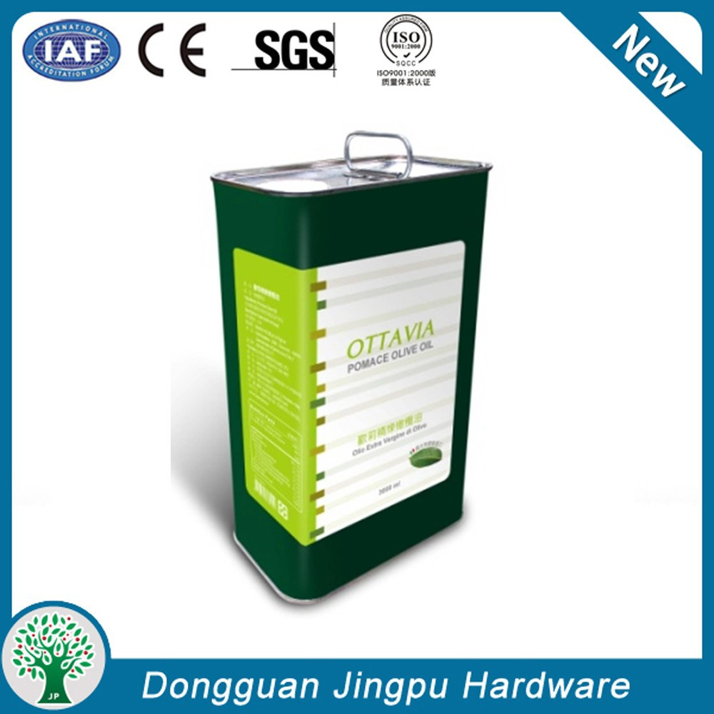 Packaging box of palm oil olive oil tin packaging oil box
