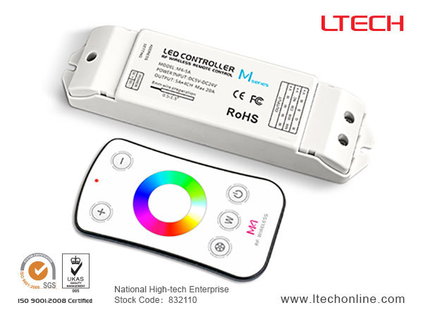 led rgb/ RGBW controller touch remote controller