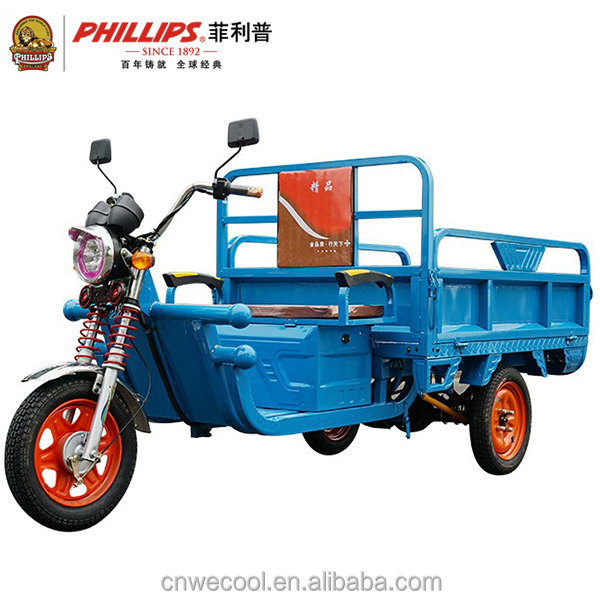 China Wholesale Professional 18 Tube 48V 800W Three Wheel Electric Cargo Tricycle