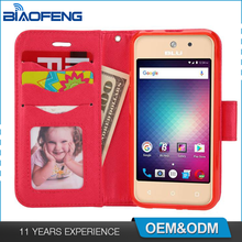 Protective Smartphone Accessories Shell Mobile Phone Cover Tpu Pu Flip Wallet Leather Case For Blu Vivo 5 Mini