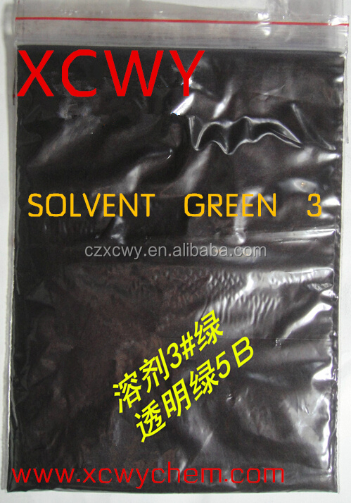 Manufacturers and Exporter of Solvent Green 3 Transparent green 5B