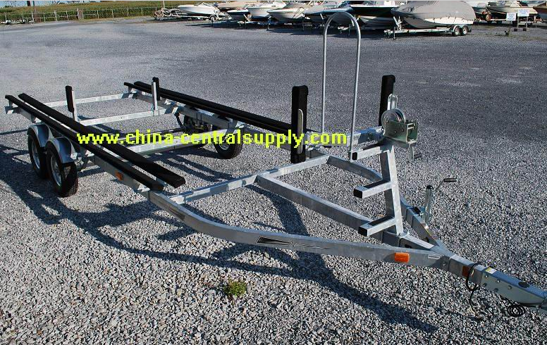 Manufacturer and Factory Supply Bunk boat trailer 9.1m pontoon trailer BCT9100