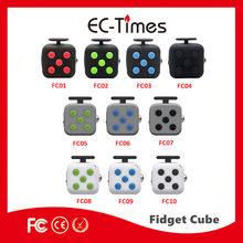 Fiddle Blox Fidget Dice Cube - A Fun Way to Relieve Stress and Anxiety Cube