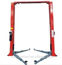 TLT250AT 5.0T Double Cylinders Clear Floor Two Post Duplex Gantry Car Lift Price Two Post Car Lift Manufacturer