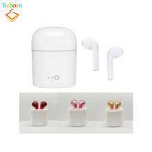 Promotio Wireless Headphones Mini Bluetooth V4.2 Stereo Earbuds with Mic Portable Charging for iphone / bluetooth headset