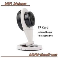 720P mini Wireless wifi IP camera Night Vision Plug and Play Audio in/out 128GB SD Card slot