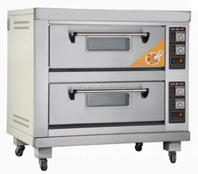 2 layer 4 trays electric steel pizza oven
