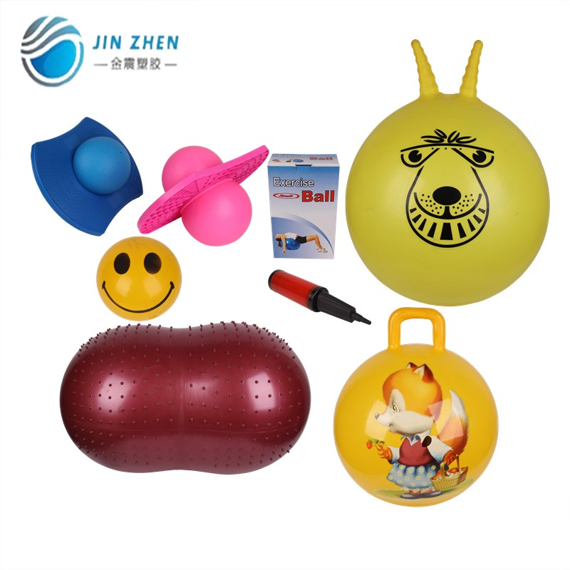 top fashion custom printed bouncy ball