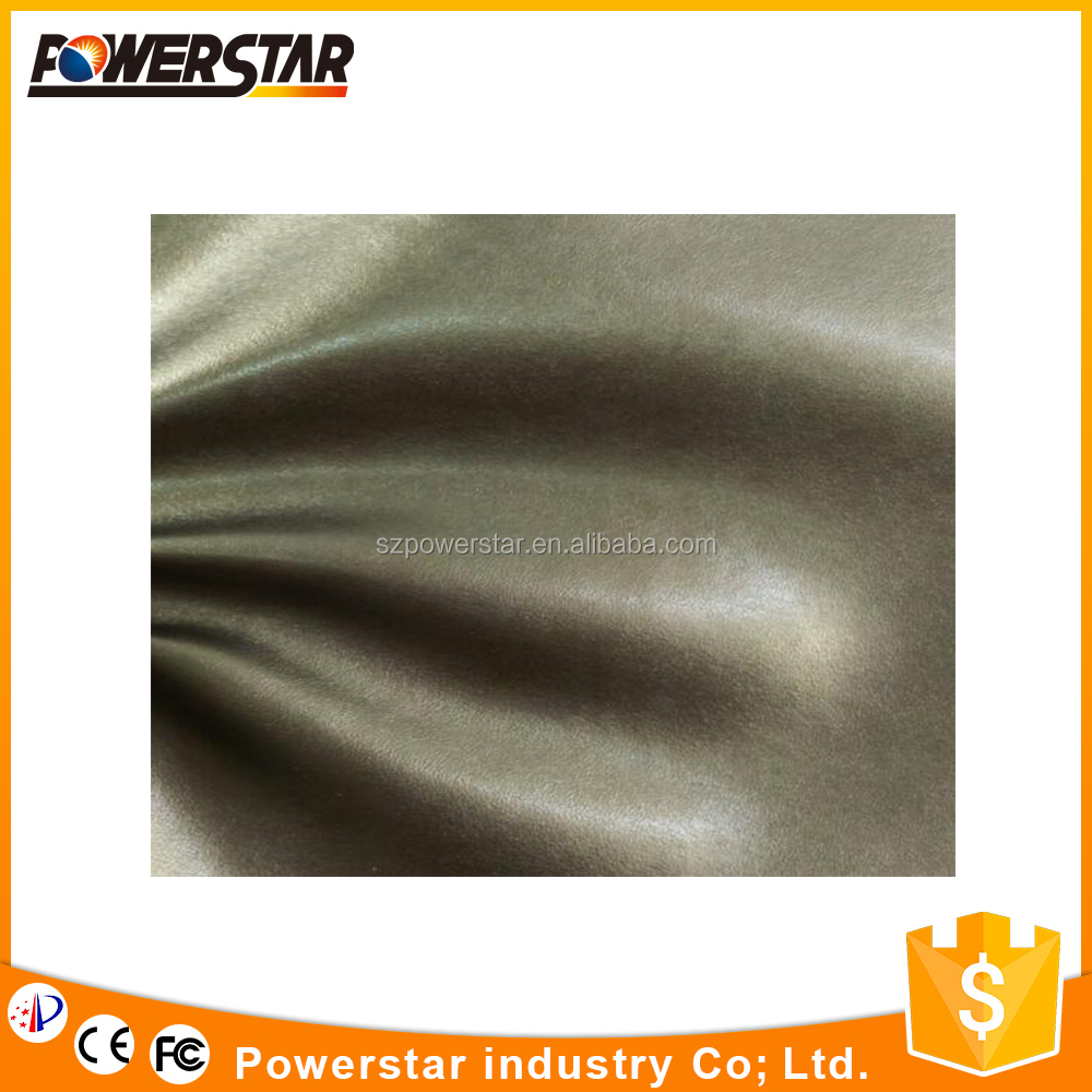 factory environmently upholstery PVC leather for sofa