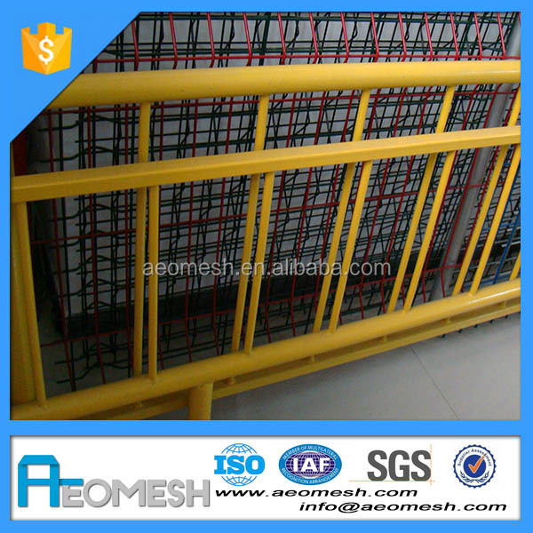 new design high quality galvanized metal remote used road barrier/parking barrier for keep order