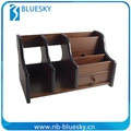Multi-function Populary desk office wooden handmade pen holders