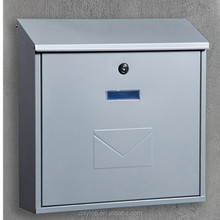 Stainless waterproof wall mount residential mailboxes