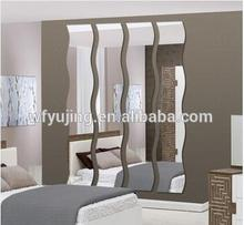 Hot sale wall mirror sheet, free combination