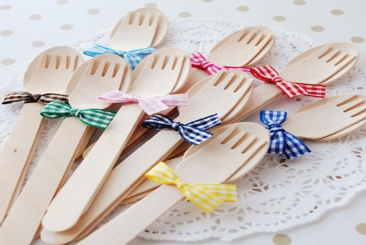 Biodegradable Birch Wood Disposable Wooden Cutlery