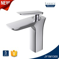 Single Lever waterpower Basin Mixer Faucet led