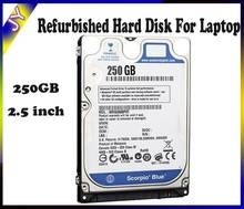 "[Discount]Refurbished hdd hard disk drive 250GB 2.5"" second hand hard disk for Laptop"