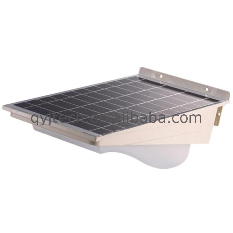 Energy - efficient solar panel pole light for lighting outside lights wall