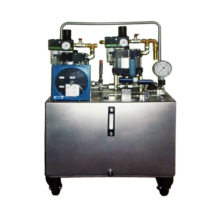 automatic control Pipe Hydraulic Pressure Test Equipment For Booster Platform