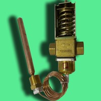 temperature controlled water valves used for water cooling air conditioner system