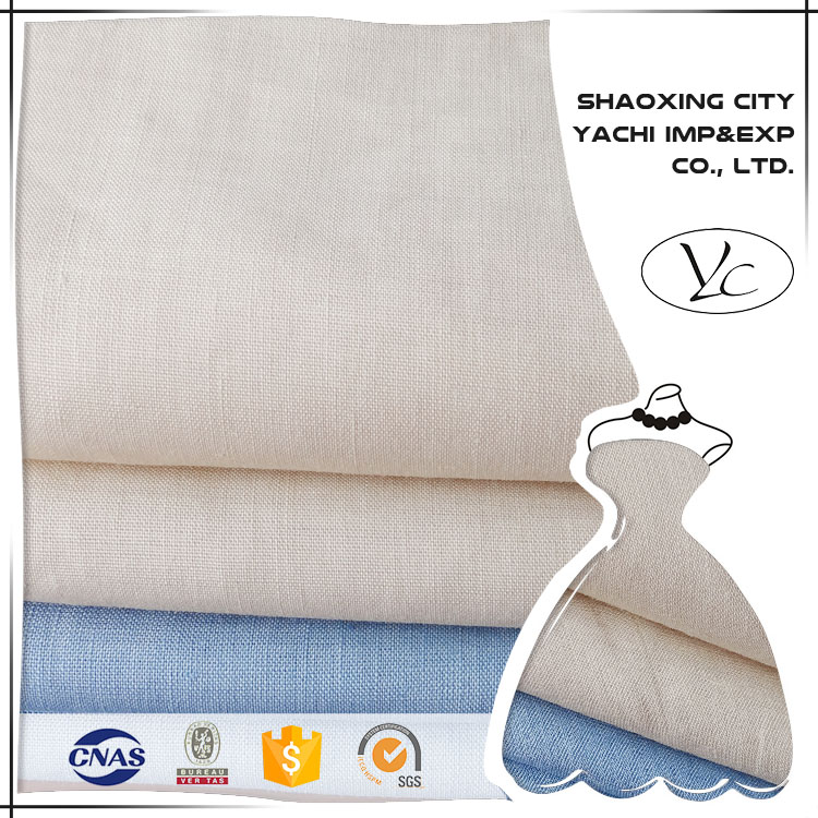 high quailty linen fabric clothing with nice linen fabric price