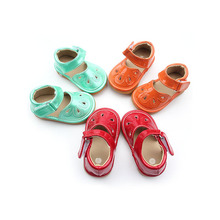 Wholesale Three Colors Baby Girls Walking Learning Shoes