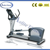 Commercial cross trainer exercise bike