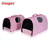 new design Luxury portable pet carrier bag, pet cage &house,fashion bag 2015