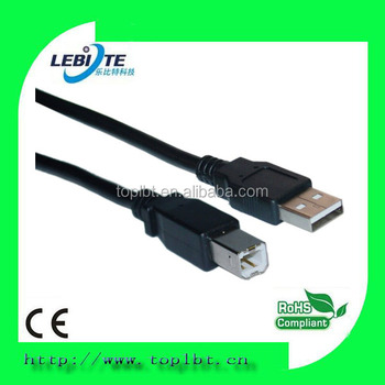 USB2.0 printer cable A male to USB-B male adapter extension cable 3ft,6ft,10ft or custom