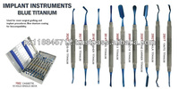 Implant Instruments Blue Titanium Set