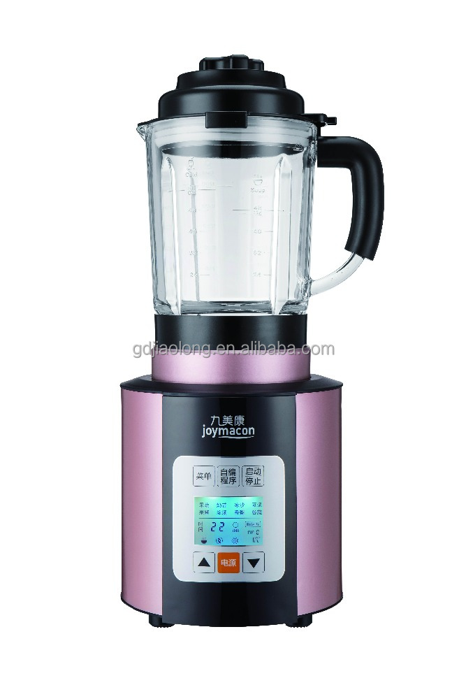 1.75L glass jar, 2000W heavy duty commercial blender soup maker