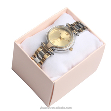 Latest design water resistant blank face advertising watch brand logos