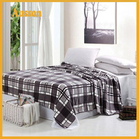 100% polyester print flannel fleece blankets los angeles hot sale cheap super soft