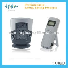 2012 Intelligent digital wireless weather station time temperature humidity