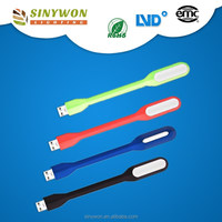 2016 NEW Portable Flexible Silicone LED USB Light For Notebook PC Laptop 5v led strip light usb