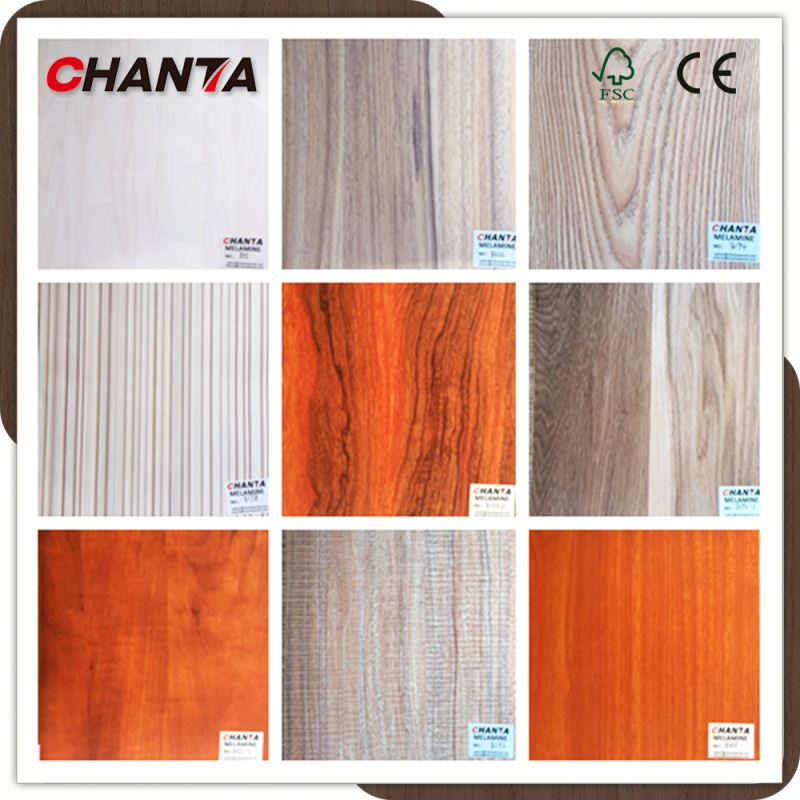 Hot Sale 7 Ply Melamine Plywood With Poplar Core
