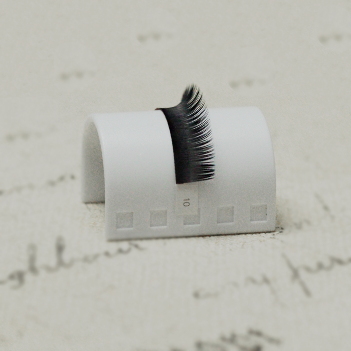 Color False eyelashes two toned Individual ombre eyelash extension