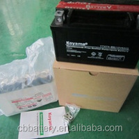 Motorcycle Battery YTX7A BS12V7AH MF Type