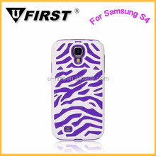 High quality leopard back cover for samsung galaxy S4,hard phone case for i9500