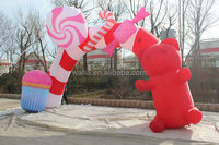 hot selling event party Christmas decorations inflatable arch