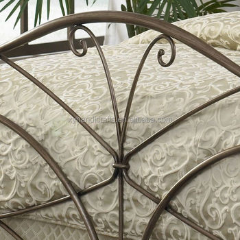 special vintage wrought iron bed