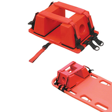 first aid rescue head immobilizer for stretcher