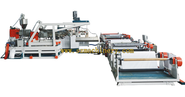 SZJP-CFM-100-2200 High-speed Plastic Coating Machine plastic laminating machines