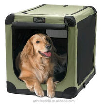 soft foladable dog crate