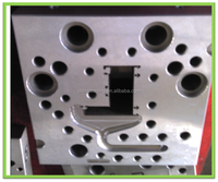 PVC front co extrusion dies for window casement frame sash profiles