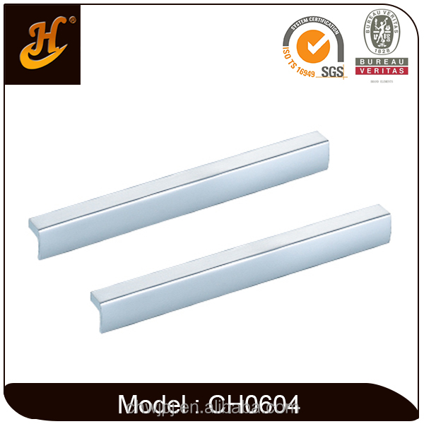 Foshan <strong>Hardware</strong> L Shape Aluminium Cabinet Drawer Handle