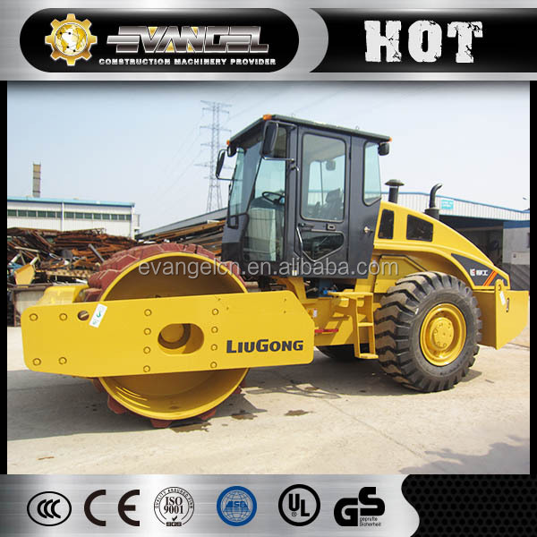 Liugong new types of road roller price Mechanical Vibratory Roller CLG614
