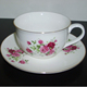 Tea Cups Importers In The Middle East / Bell Shape Porcelain Cups And Saucers / Ceramic Tea Set
